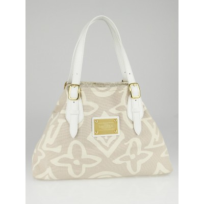 Louis Vuitton Limited Edition Beige Tahitienne Cabas PM Bag