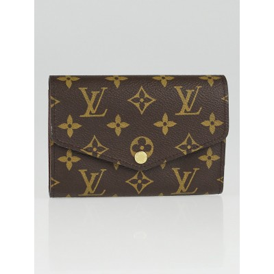 Louis Vuitton Monogram Canvas Sarah Compact Wallet