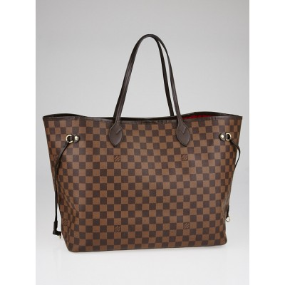 Louis Vuitton Damier Canvas Neverfull GM Bag