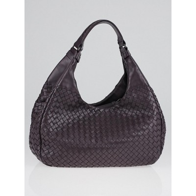 Bottega Veneta Quetsche Intrecciato Woven Nappa Leather Medium Campana Bag