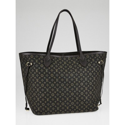 Louis Vuitton Fusain Monogram Idylle Neverfull MM Bag