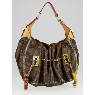 Louis Vuitton Limited Edition Monogram Canvas Kalahari GM Bag