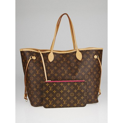 Louis Vuitton Monogram Canvas Neverfull GM NM Bag