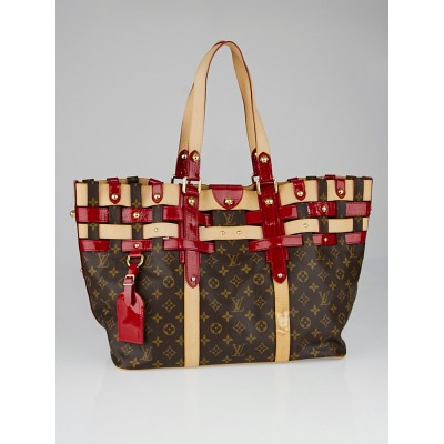 Louis Vuitton Limited Edition Rubis Salina GM Bag
