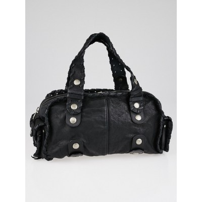 Chloe Black Buffalo Leather Silverado Bag