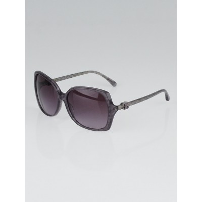 Chanel Purple/Grey Square Oversized Frame CC Sunglasses 5216