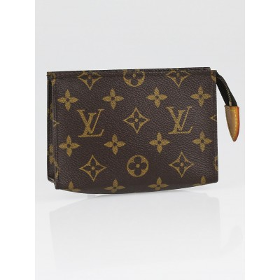 Louis Vuitton Monogram Canvas Poche Toilette 15 Cosmetic Pouch