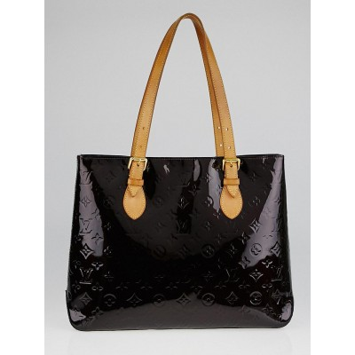 Louis Vuitton Amarante Monogram Vernis Brentwood Bag
