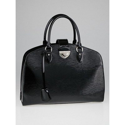 Louis Vuitton Black Electric Epi Leather Pont-Neuf GM Bag