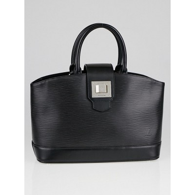 Louis Vuitton Black Epi Leather Mirabeau PM Bag
