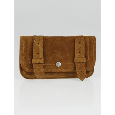 Proenza Schouler Brown Suede PS1 Wallet