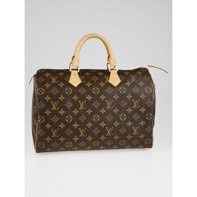 Louis Vuitton Monogram Canvas Speedy 35 NM Bag