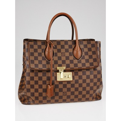 Louis Vuitton Damier Canvas Ascot Bag