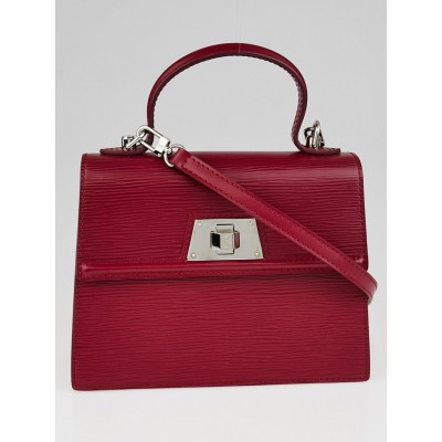 Louis Vuitton Fuchsia Epi Leather Sevigne PM Bag