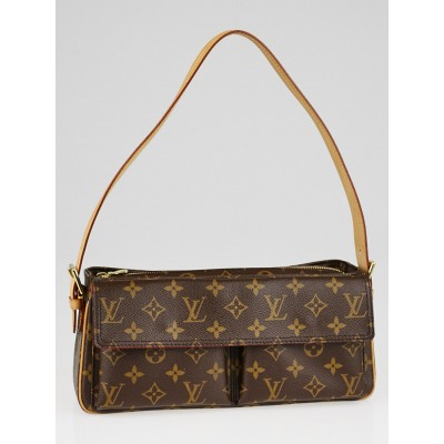 Louis Vuitton Monogram Canvas Viva Cite MM Bag