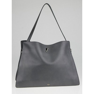 Celine Grey Smooth Leather New Shoulder Bag
