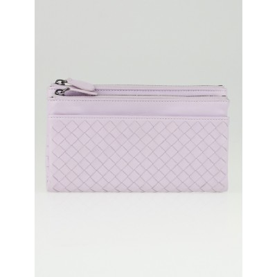 Bottega Veneta Parme Intrecciato Woven Leather Bifold Wallet