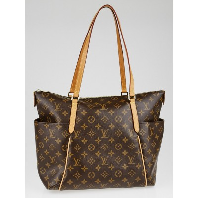 Louis Vuitton Monogram Canvas Totally MM NM Bag