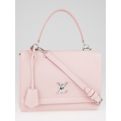 Louis Vuitton Rose Ballerine Calfskin Leather Lockme II Bag