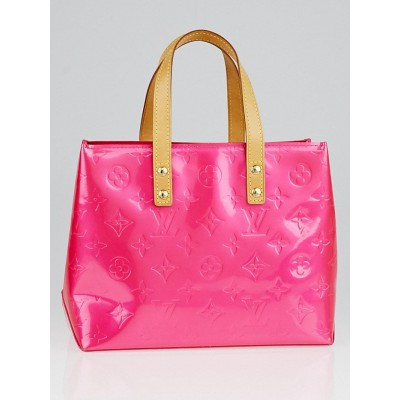 Louis Vuitton Fuchsia Monogram Vernis Reade PM Tote Bag