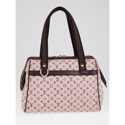 Louis Vuitton Cherry Monogram Mini Lin Canvas Josephine PM Bag