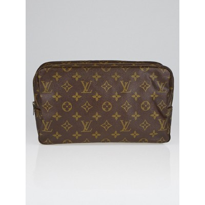 Louis Vuitton Vintage Monogram Canvas Trousse Toilette 28 Cosmetic Bag
