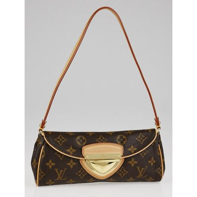Louis Vuitton Monogram Canvas Beverly Clutch Bag