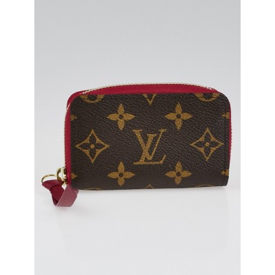 Louis Vuitton Fuchsia Monogram Canvas Zippy Multicartes Wallet