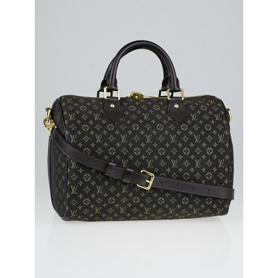 Louis Vuitton Fusain Monogram Idylle Speedy Bandouliere 30 Bag