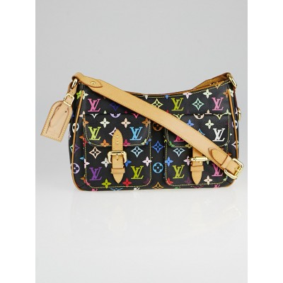Louis Vuitton Black Monogram Multicolore Lodge GM Bag
