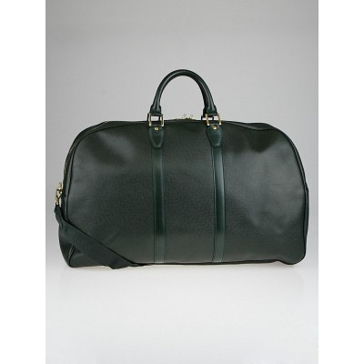 Louis Vuitton Epicea Green Taiga Leather Kendall GM Keepall Bag
