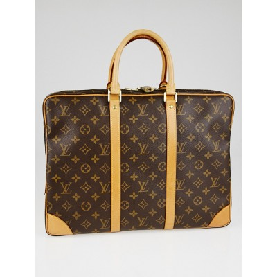 Louis Vuitton Monogram Canvas Porte-Documents Voyage Bag
