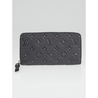 Louis Vuitton Platine Monogram Empreinte Leather Zippy Wallet