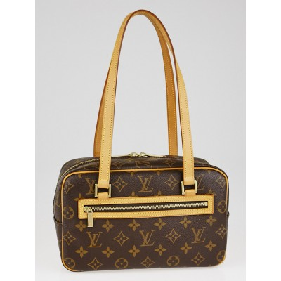 Louis Vuitton Monogram Canvas Cite MM Bag