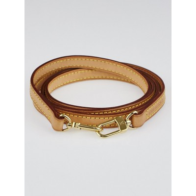 Louis Vuitton Natural Vachetta Leather Shoulder Strap