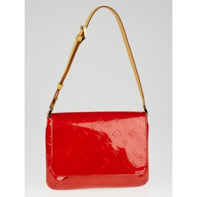 Louis Vuitton Red Monogram Vernis Thompson Street Bag