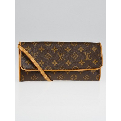Louis Vuitton Monogram Canvas Pochette Twin GM Bag