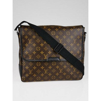Louis Vuitton Monogram Macassar Canvas Bass GM Messenger Bag