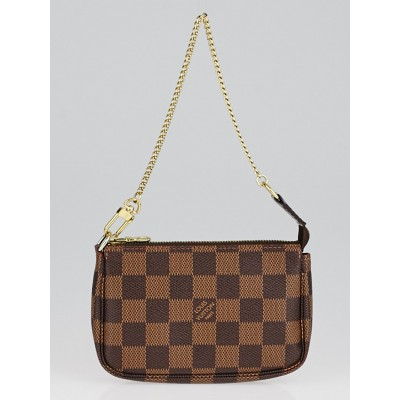 Louis Vuitton Damier Canvas Mini Accessories Pochette Bag
