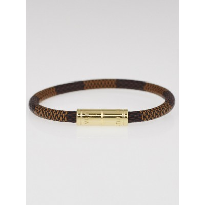 Louis Vuitton Damier Canvas Keep It Bracelet