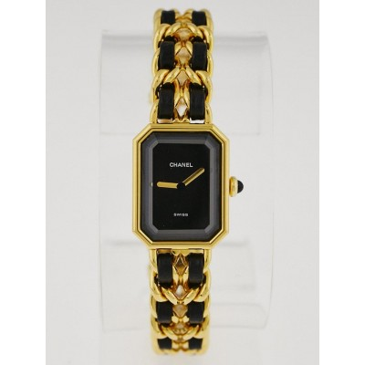 Chanel Vintage Gold Chain Estate Premier Quartz Ladies Watch