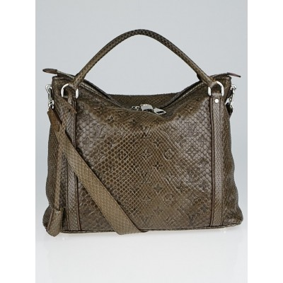 Louis Vuitton Brown Python Ixia PM Bag
