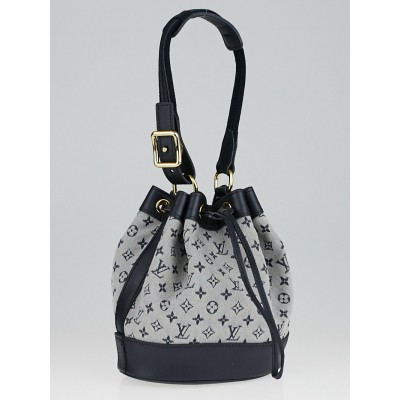 Louis Vuitton Blue Monogram Mini Lin Noelie Bag