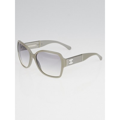 Chanel Grey Acetate Frame Oversized Square CC Sunglasses - 5230Q