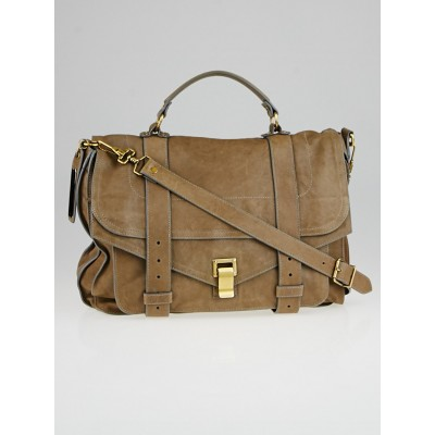 Proenza Schouler Smoke Lux Leather Large PS1 Satchel Bag