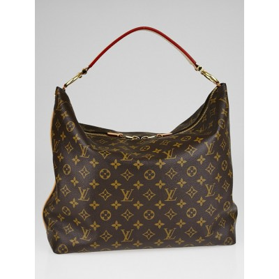 Louis Vuitton Monogram Canvas Sully MM Bag