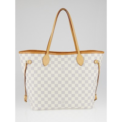 Louis Vuitton Damier Azur Canvas Neverfull NM MM Bag