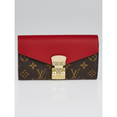 Louis Vuitton Cherry Monogram Canvas Pallas Wallet