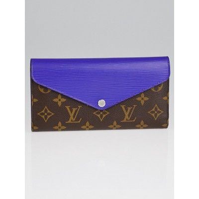 Louis Vuitton Figue Epi Leather and Monogram Canvas Marie-Lou Long Wallet