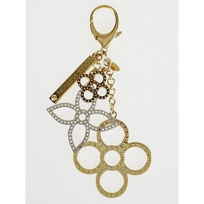 Louis Vuitton Goldtone Tapage Key Holder and Bag Charm